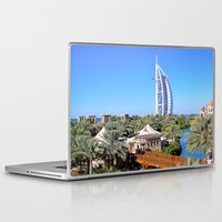 arab Laptop & iPad Skins featuring Dubai - Burj Al Arab by Art-Motiva