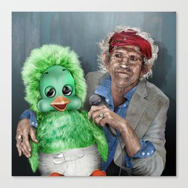Keith and Orville Canvas Print
