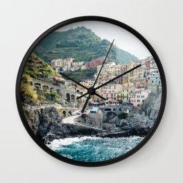 Manarola, Cinque Terre Wall Clock