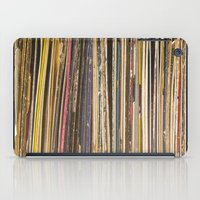 records iPad Cases featuring Records by Cassia Beck