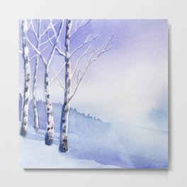 Winter scenery #5 Metal Print