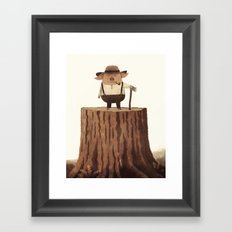 Lumberpig Framed Art Print