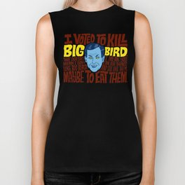 Voted to Kill Big Bird Biker Tank