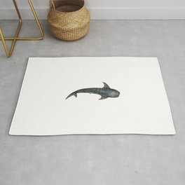Whale shark for divers, shark lovers and fishermen Rug