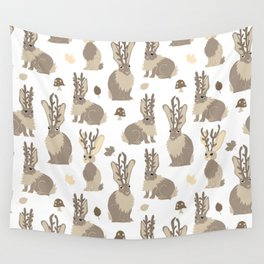 Jackalope Forest Wall Tapestry