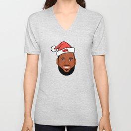 Lebron Christmas Unisex V-Neck