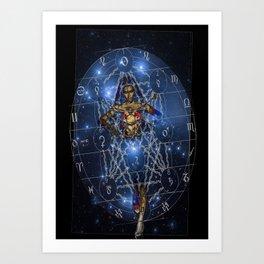 Guardian of Destiny  Art Print