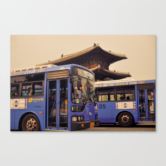 Dongdaemun Gate I Canvas Print