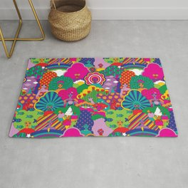 Girls Girls Girl Rug