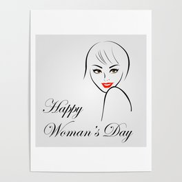 Happy womens day- she persisted gifts Poster