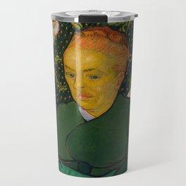 La Berceuse by Vincent van Gogh, 1889 Travel Mug