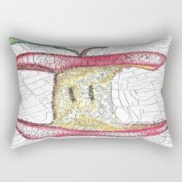 Robert Frost Poetry Art Rectangular Pillow