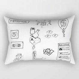 Artificial Thrills Rectangular Pillow