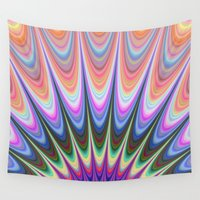 sunrise Wall Tapestries featuring Sunrise by David Zydd