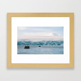 To the Berg Framed Art Print