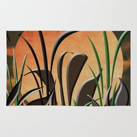 twilight Area & Throw Rugs featuring Twilight by Judith Lee Folde Photography & Art