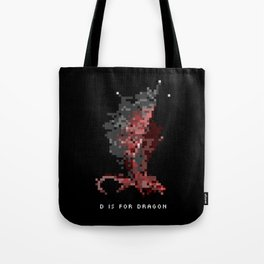 D is for Dragon Tote Bag
