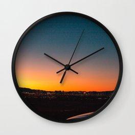 Love & a Sunset Wall Clock