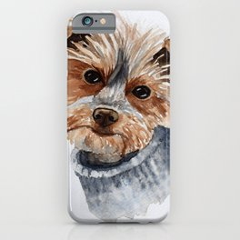 Snuggle up warm. iPhone Case