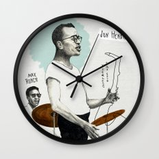 ANALOG zine - Vocalese Sax Solo Wall Clock