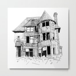 The home in your heart Metal Print