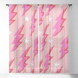 Barbie Lightning Sheer Curtain