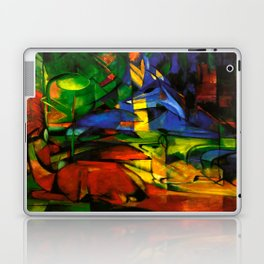 Deers in Wood by Franz Marc Laptop & iPad Skin