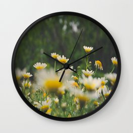 Margaridas Wall Clock