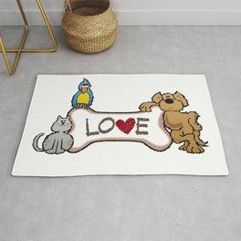 Animal Love Rug