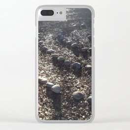Sacred Labyrinth Walk Clear iPhone Case