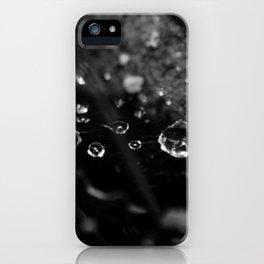 Black Drops iPhone Case