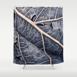 Organic Winter Decay Shower Curtain