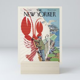 "Cover of "" The new Yorker"" magazine. Mar. 22 1958. Mini Art Print"