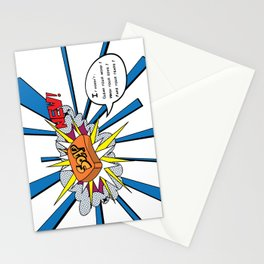 Soap doesn´t wash your sins Stationery Cards