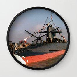 USS STONEWALL JACKSON (SSBN-634) Wall Clock