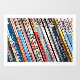 Beginner Books Art Print