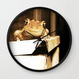 Freddy the Frog Wall Clock