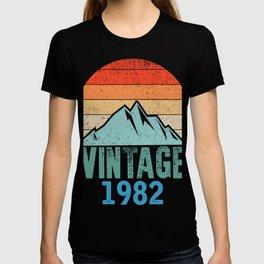 1982 37. Geburtstag Geschenk T-shirt