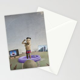 The Child Dictator—Kim Jung Un Stationery Cards