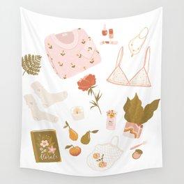 Girly stuff Wall Tapestry