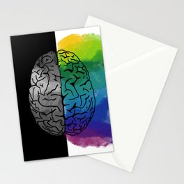 Left Brain, Right Brain Stationery Cards