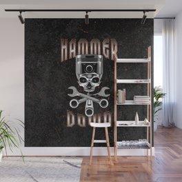 Hammer Down Wall Mural