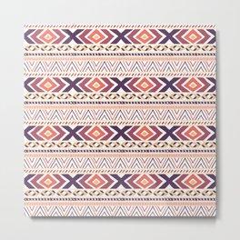 Fashion Geometric Pattern Art Prints Metal Print