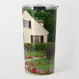 Cottage Garden - Colonial Williamsburg Travel Mug