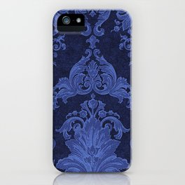 Gold Cream Paisley Floral Pattern iPhone Case