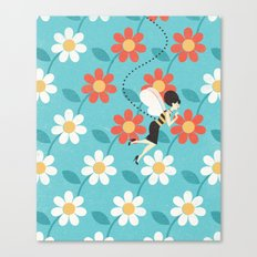 Busy Bea Canvas Print