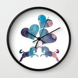 Unicorn Art Wall Clock