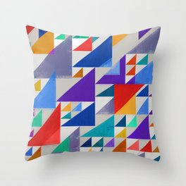 Abstract Composition 393 Throw Pillow
