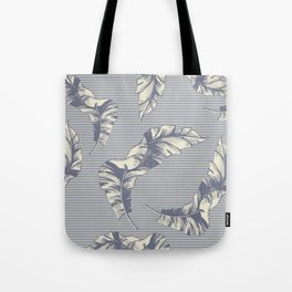 tropical gentle falling leaves Tote Bag