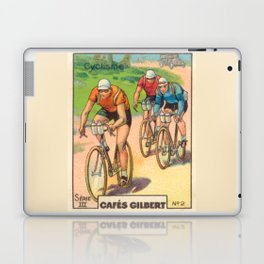 Cyclisme Cyclists Vintage Graphic Cycling Laptop & iPad Skin